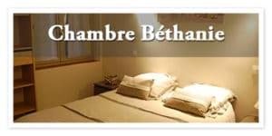 Chambre Béthenie, la maison d'Elise, chambre d'hôte