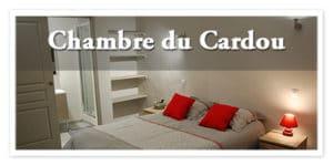 la chambre Cardou, à la maison d'Elise, Rennes le château