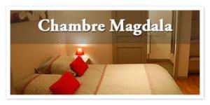 Chambre d'hôte, chambre Magdala à Rennes le château