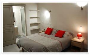 chambre Cardou à la maison d'hote Rennes le chateau