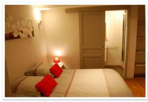 La chambre Magdala à la maison d'hôtes de Rennes le chateau