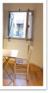 bureau dans la chambre Béthanie, maison d'hôtes Rennes le château